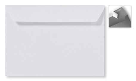 Metallic extra white striplock 22 x 31,2 cm