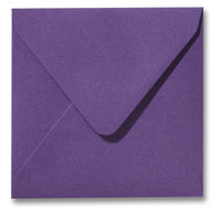 Metallic purple 12.5 x 14 cm